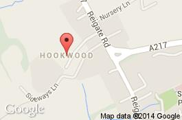 map for hookwood cleaners area