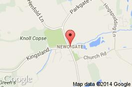 map for newdigate cleaners area