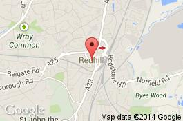 map for deep cleaning service in redhill